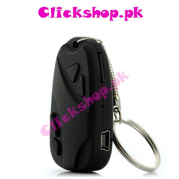 808 Car Key Chain Spy Camera Recorder 720480 TF - New