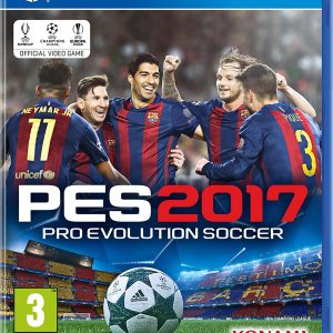 PES 2017 - Pro Evolution Soccer PS4 Game Swat Online Gaming Store