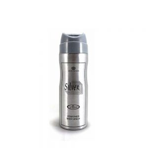 Crown Perfume Body Spray Silver Color
