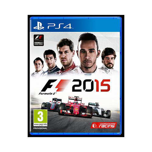 formula 1 2015 PlayStation 4 game