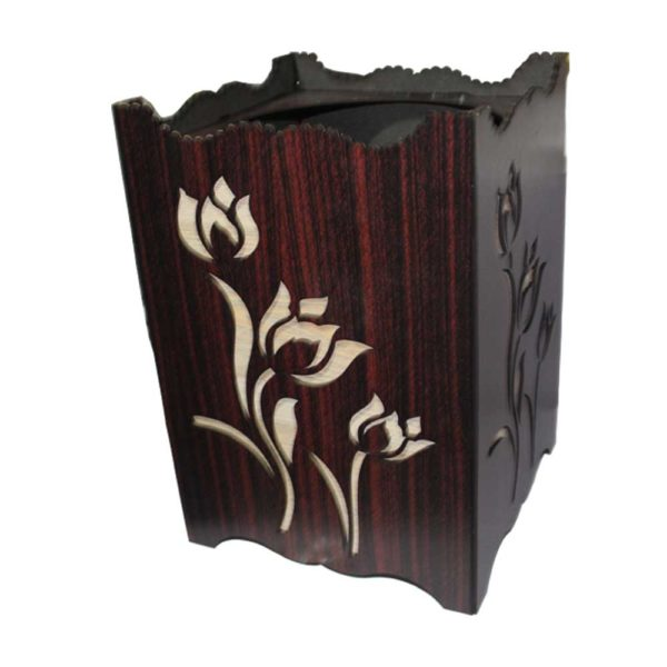 Dusbtin and tissue box made by wood for personal use