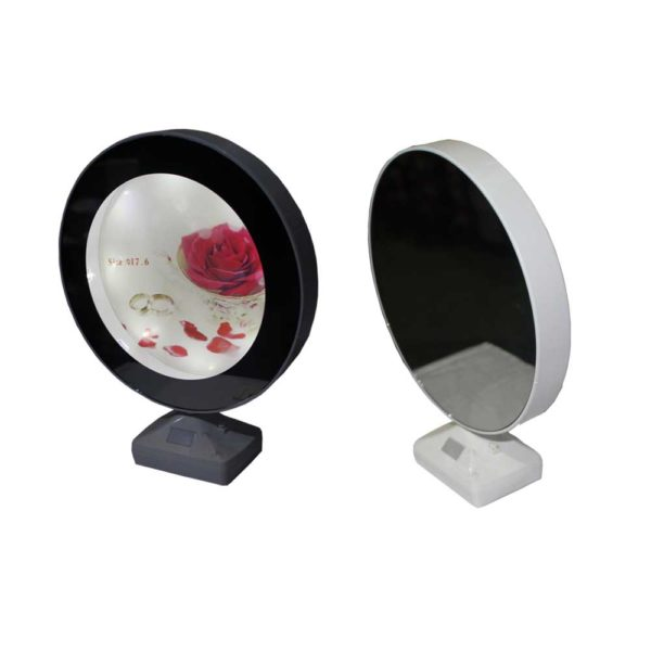Electric mirror and photo frame