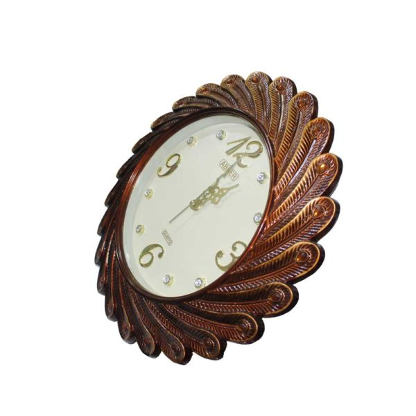 Red Golden color clock for office or home use