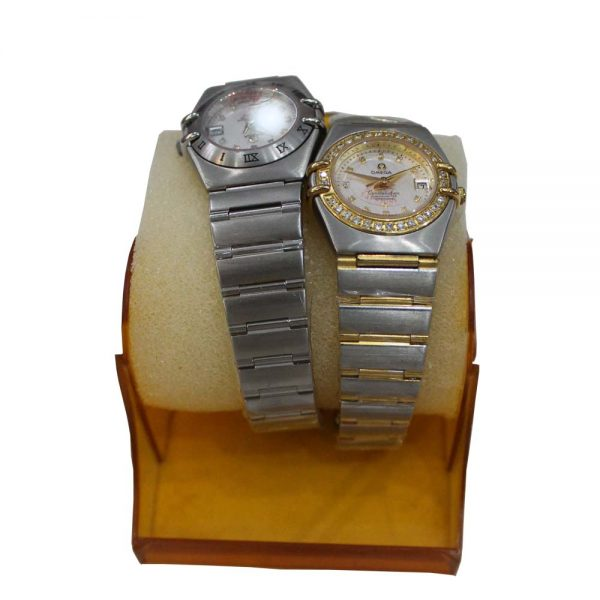Watch Without Cells Silver Color
