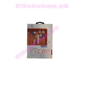 Inspire Stereo Earphones for Noteboom - shop online in pakistan