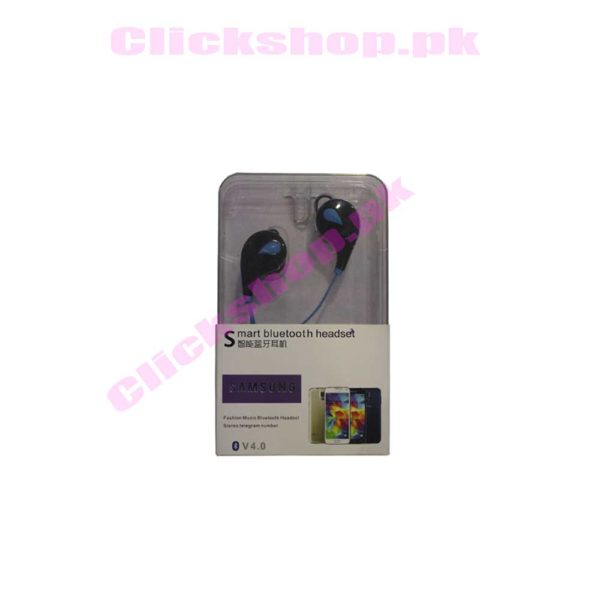 Smart Bluetooth Headset V4.0 Fashion Music Headset Stereo Telegram number - shop online in pakistan