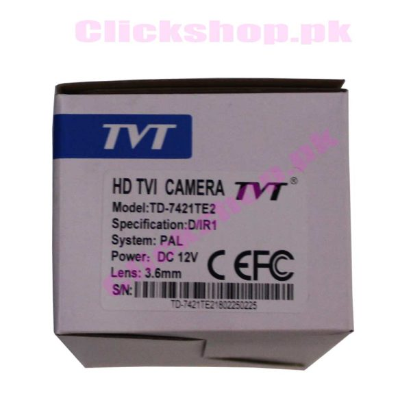 TYT HD TVI Camera - shop online in pakistan
